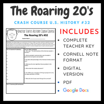 Crash Course U.S. History: The Roaring 20's #32