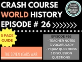 Crash Course The Seven Years War Ep. 26