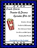 Crash Course Theater #46-50 (Broadway, Off Broadway, Music