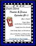 Crash Course Theater Episodes #1-5 (Aristotle, Ancient Gre