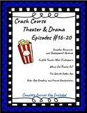 Crash Course Theater Episodes #16-20 (Shakespeare, Spanish and French Theater)