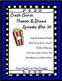 Crash Course Theater Episodes #26-30 (Early American Theater, German Theater)