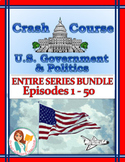 DISTANCE LEARNING Crash Course U.S. Government Worksheets
