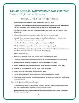 Crash Course U.S. Governmen... by Elise Parker | Teachers Pay Teachers