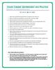 Crash Course U.S. Government Worksheets Episodes 31-35