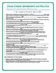 Crash Course U.S. Government Worksheets Episodes 46-50