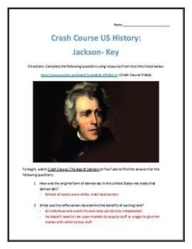 Crash Course U.S. History #14- The Age of Jackson Video Analysis