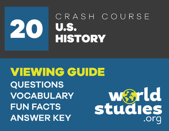 Crash Course U.S. History 20: The Civil War, Part I