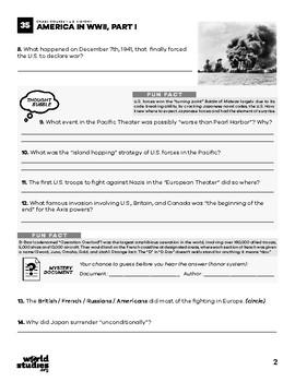 Crash Course U.S. History 35: America in World War 2 (World War Two) Part 1