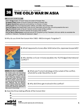 Crash Course U.S. History 38: The Cold War in Asia