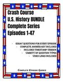 Crash Course U.S. History COMPLETE SERIES BUNDLE Episodes 1-47