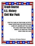 Crash Course U.S. History Civil War Pack