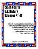 Crash Course U.S. History Episode Guides 41-47 (Cold War, 1970's, 1990's-2000's)