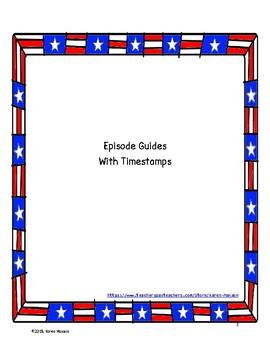 Crash Course U.S. History Episode Guides, Colonization and Revolution Pack