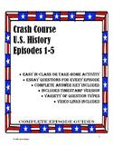 Crash Course U.S. History Episodes 1-5 (Colonization)