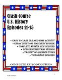 Crash Course U.S. History Episodes 11-15