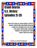 Crash Course U.S. History Episodes 21-25 (19th Century America)