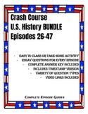 Crash Course U.S. History Episodes 26-47 BUNDLE