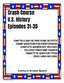 Crash Course U.S. History Episodes 31-35 (1920's, Great Depression, World War 2)
