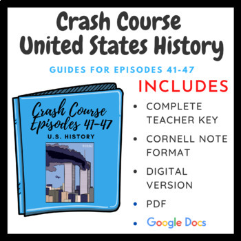 Crash Course U.S. History Episodes 41-47 (Bundle Pack)