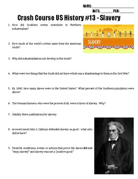 Crash Course US History #13 - Slavery