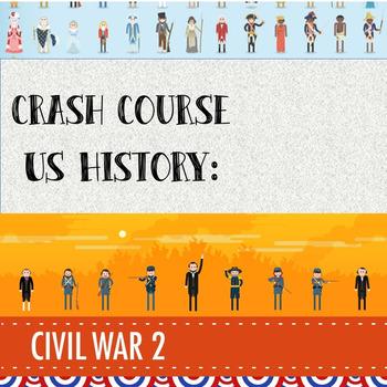 Crash Course - US History: Civil War Part II (#21)