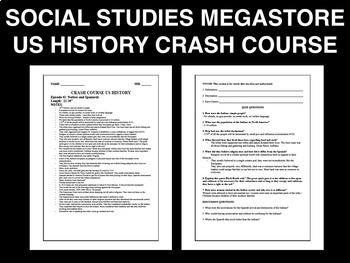 Crash Course US History Ep. 6-10