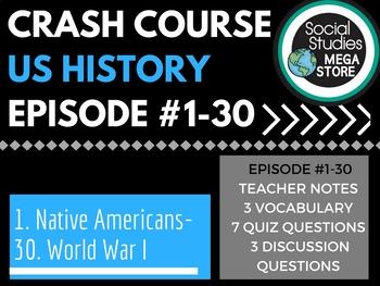Crash Course US History Ep. 1-30