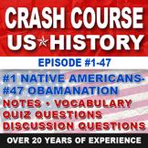 Crash Course US History Ep. 1-47 Bundle