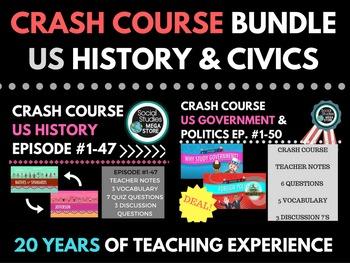 Crash Course US History Ep. # 1-47, Government & Politics
