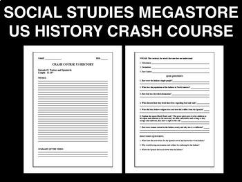 Crash Course US History Ep. 20-47