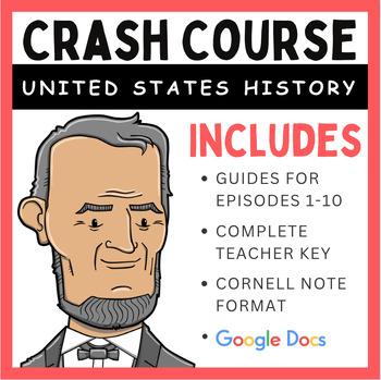 Crash Course U.S. History Episodes 1-10 (Bundle Pack)