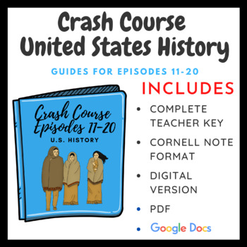 Crash Course U.S. History Episodes 11-20 (Bundle Pack)