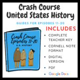 Crash Course U.S. History Episodes 11-20