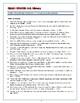Crash Course U.S. History Worksheets: Episodes 16-20