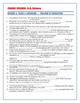 Crash Course US. History Worksheets: Episodes 6-10