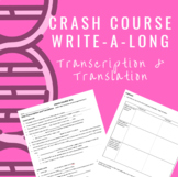 Crash Course WAL (write-a-long): DNA Transcription and Tra