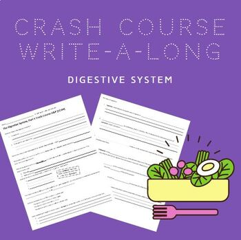 Crash Course WAL (write-a-long): Digestive System