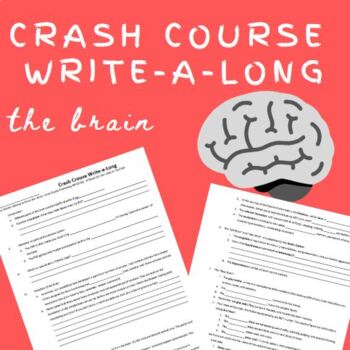 Crash Course WAL (write-a-long): The Brain