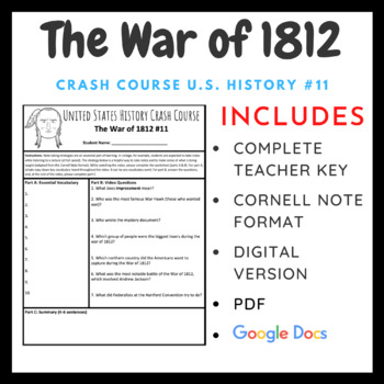Crash Course U.S. History: War of 1812 #11