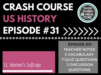 Crash Course Women's Movement Ep. 31