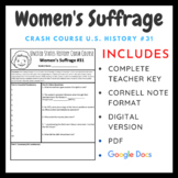 Crash Course U.S. History: Women's Suffrage #31