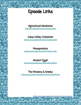 Crash Course World History #1-5 (Ancient World, Mesopotamia, Persians, Greeks)