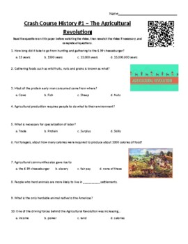 Crash Course World History - #1: Agricultural Revolution