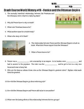 Crash Course World History #19 - Venice and the Ottomans