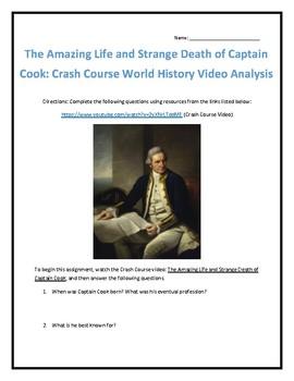 Crash Course World History #27- Captain Cook Video Analysis