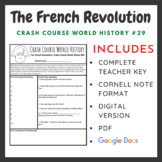 Crash Course World History: The French Revolution #29