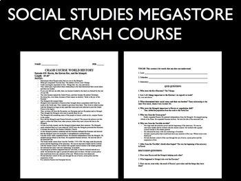 Crash Course World History Ep. 1-30 Bundle