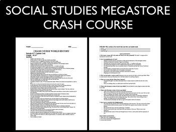 Crash Course World History Ep. 1-5
