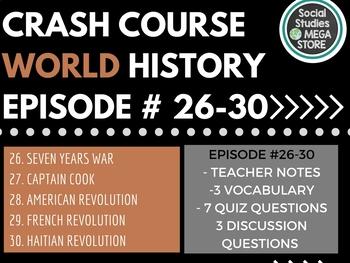 Crash Course World History EP. 26-30